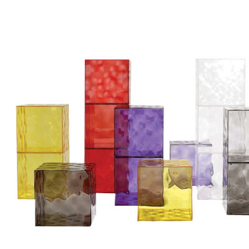 Optic Storage Cube by Kartell