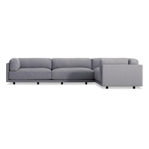 Sunday L Sectional Sofa by Blu Dot