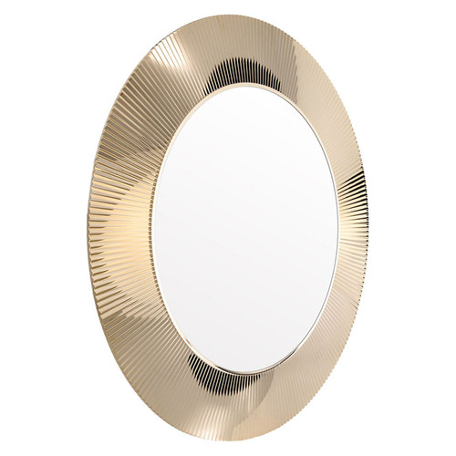 All Saints Metallic Mirror by Kartell