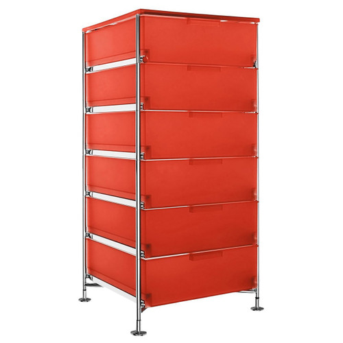 Mobil 6-Drawer Container by Kartell