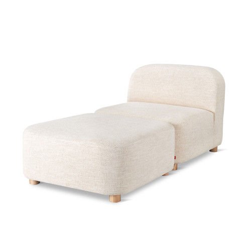 Circuit Modular 2-Piece Chaise by Gus Modern