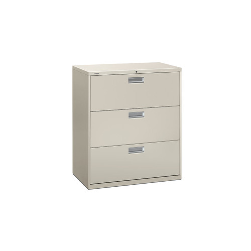 """Brigade 600 3-Drawer Lateral File, 36"""" Wide by HON"""