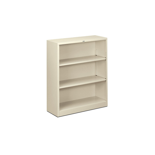 Brigade Metal Bookcase, 3 Shelf by HON