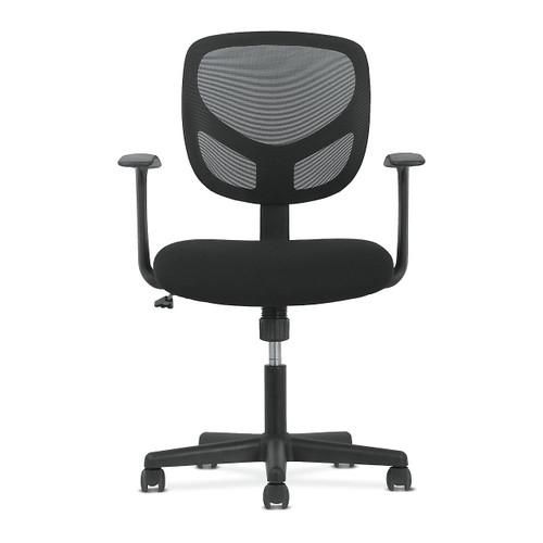 Basyx HVST102 Work Chair by HON, Mesh Back