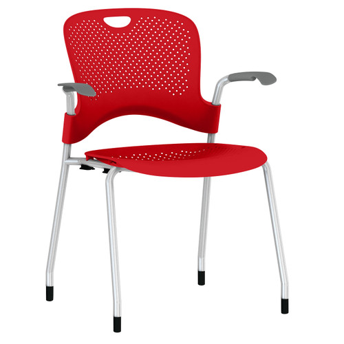 Caper Stacking Chair, Molded Seat by Herman Miller