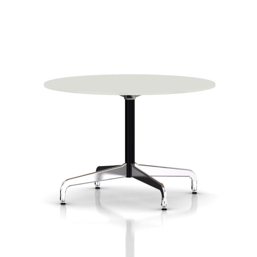 Eames Round Table by Herman Miller, Segmented Base