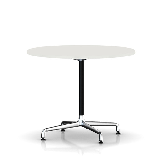 Eames Round Table by Herman Miller, Universal Base
