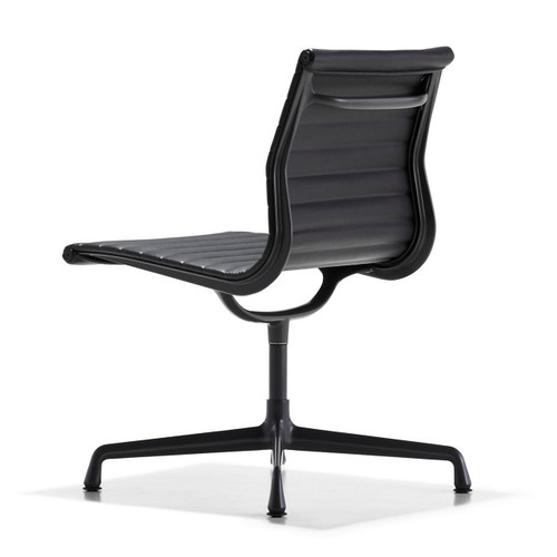 Eames Aluminum Armless Side Chair by Herman Miller