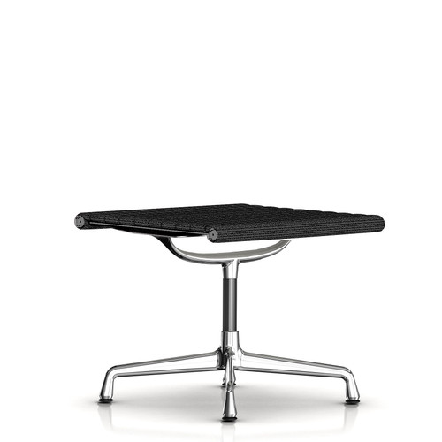 Eames Aluminum Ottoman by Herman Miller, Fabric