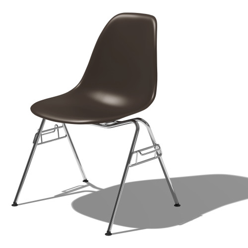 Eames Molded Plastic Side Chair by Herman Miller