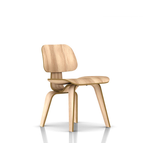 Eames Plywood Dining Chair by Herman Miller, Wood Legs