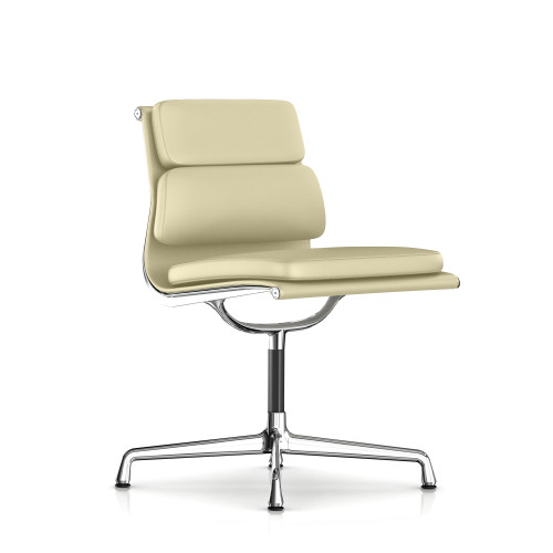 Eames Soft Pad Armless Side Chair by Herman Miller