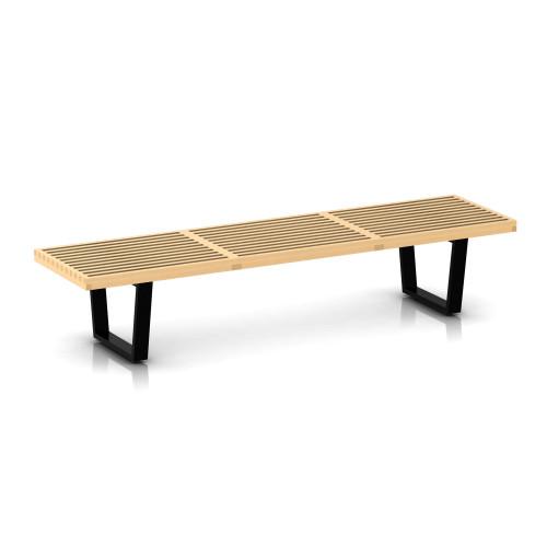 "Nelson Platform Bench by Herman Miller, 72"" Wide"