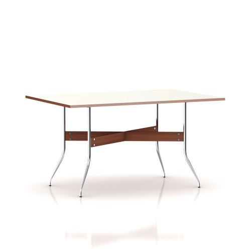 Nelson Swag Leg Rectangular Dining Table by Herman Miller
