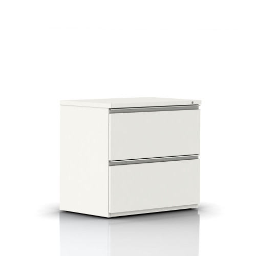 Tu W-Pull Freestanding Lateral File by Herman Miller