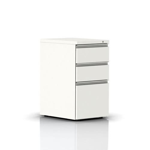 Tu W-Pull Freestanding Pedestal by Herman Miller