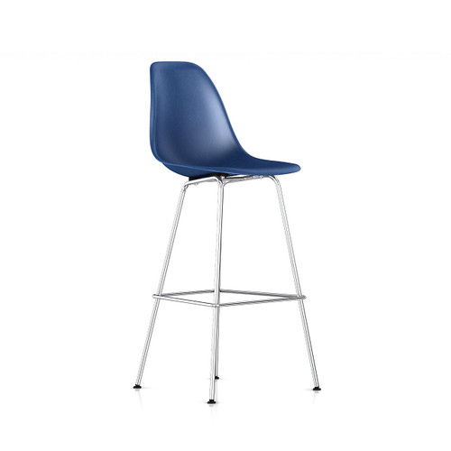 Eames Molded Fiberglass Bar Stool by Herman Miller