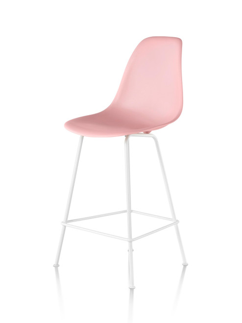 Eames Molded Plastic Bar Stool by Herman Miller