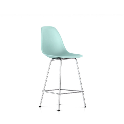 Eames Molded Plastic Counter Stool by Herman Miller
