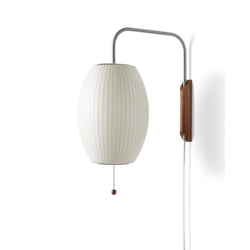 Nelson Cigar Wall Sconce by Herman Miller