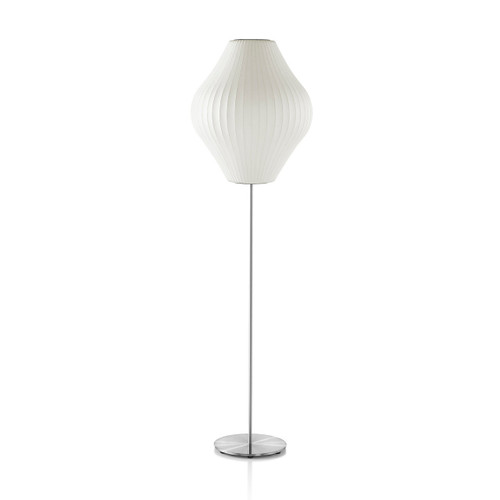 Nelson Pear Lotus Floor Lamp by Herman Miller