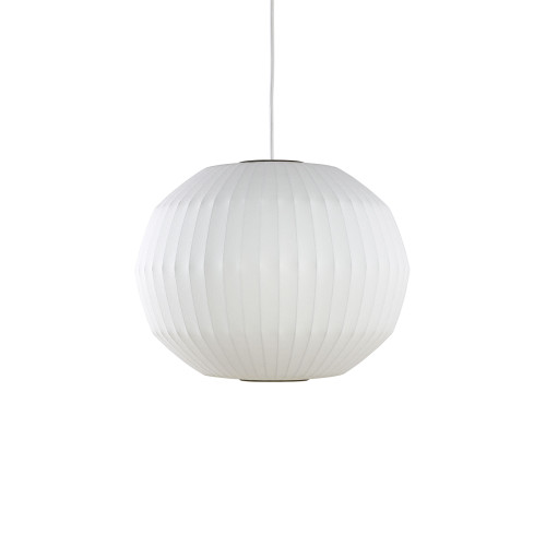 Nelson Angled Sphere Bubble Pendant by Herman Miller