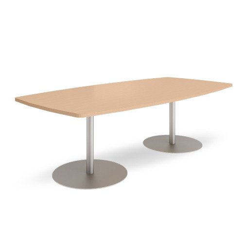 Groupwork 96in Boat Shaped Conference Table by Steelcase