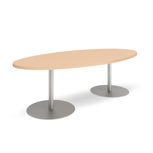 Groupwork 96in Oval Conference Table by Steelcase