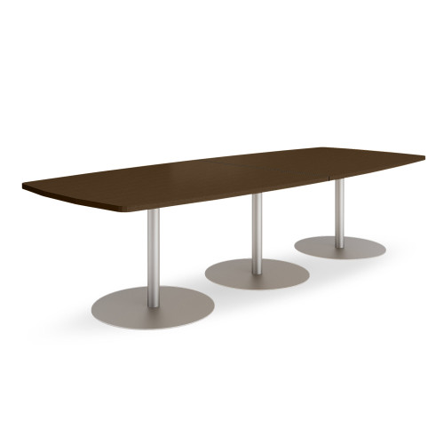 Groupwork 120in Boat Shaped Conference Table by Steelcase