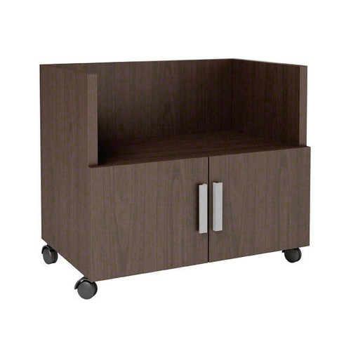 Currency Mobile Cart with Doors by Steelcase