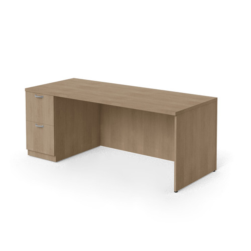 "Currency 60"" Single Pedestal Desk by Steelcase"