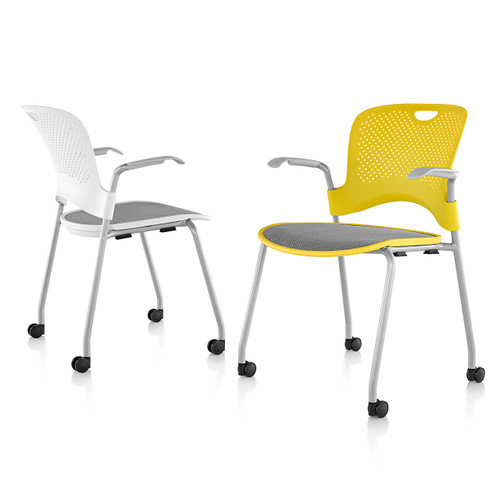 Caper Stacking Chair with FlexNet Seat by Herman Miller