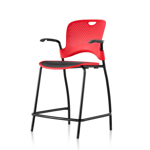 Caper Counter Height Stacking Stool by Herman Miller