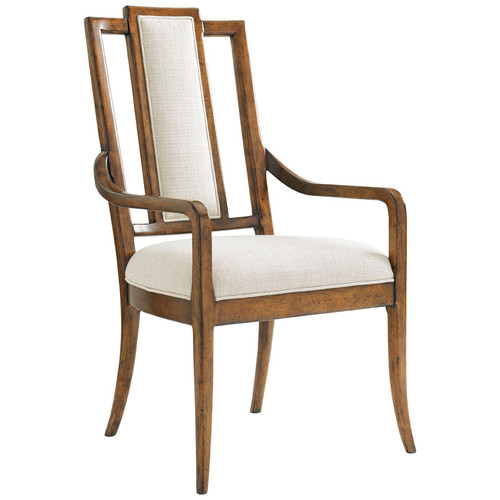 Bali Hai St. Barts Splat Back Arm Chair by Tommy Bahama Home