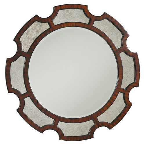 Kensington Place Del Mar Round Mirror by Lexington