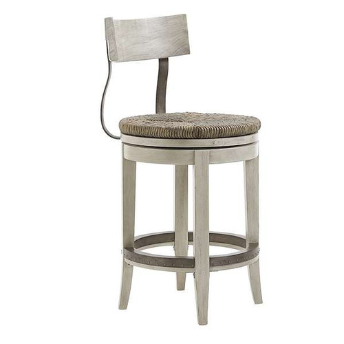 Oyster Bay Merrick Swivel Counter Stool by Lexington
