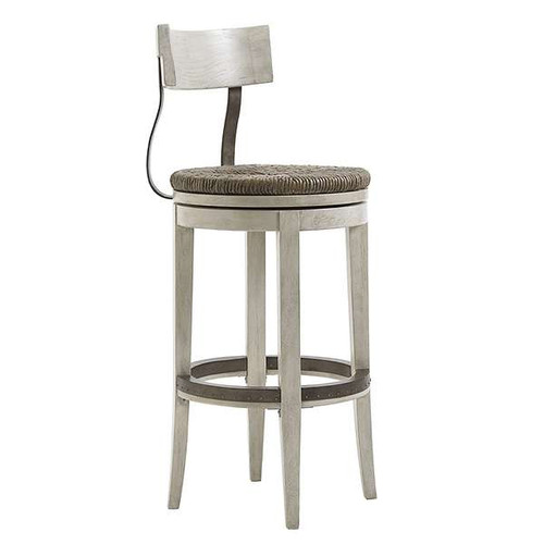 Oyster Bay Merrick Swivel Bar Stool by Lexington