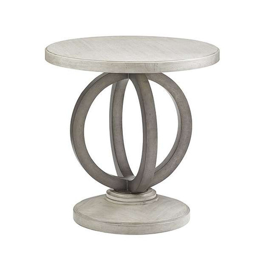 Oyster Bay Hewlett Round Side Table by Lexington