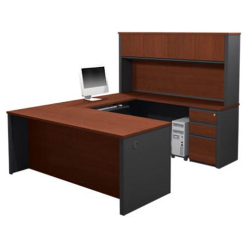 Prestige Plus U-Shaped Workstation with Hutch
