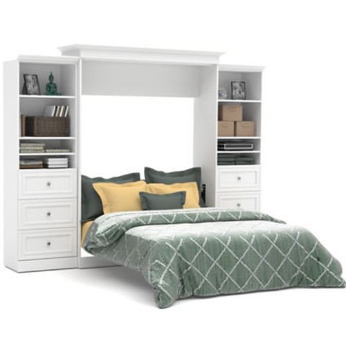 Versatile 115'' Queen Wall Bed Kit with Drawers by Bestar