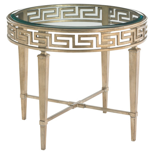 Tower Place Aston Round Lamp Table by Lexington