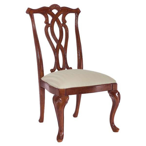 Cherry Grove Pierced Back Side Chair by American Drew