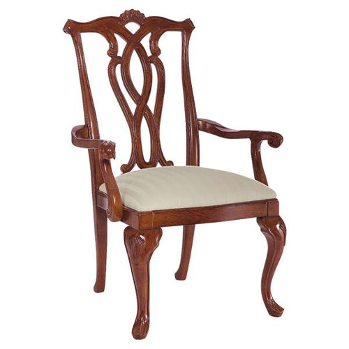 Cherry Grove Pierced Back Arm Chair by American Drew