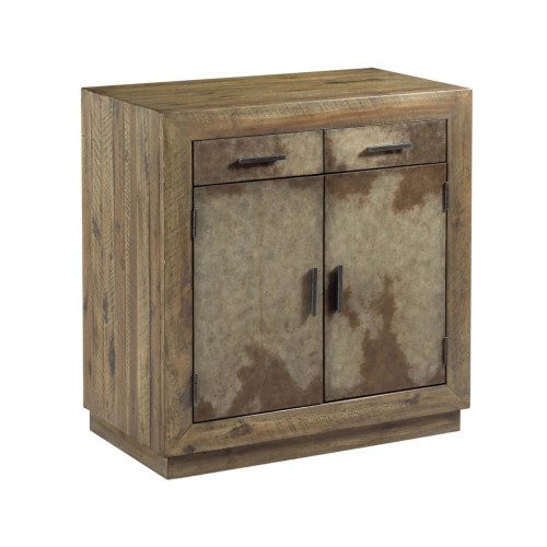 Hidden Treasures Vellum Two Door Cabinet by Hammary