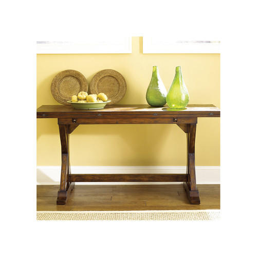 Hidden Treasures Flip Top Console Table by Hammary
