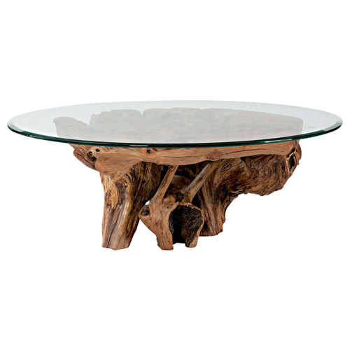 Hidden Treasures Root Ball Cocktail Table by Hammary