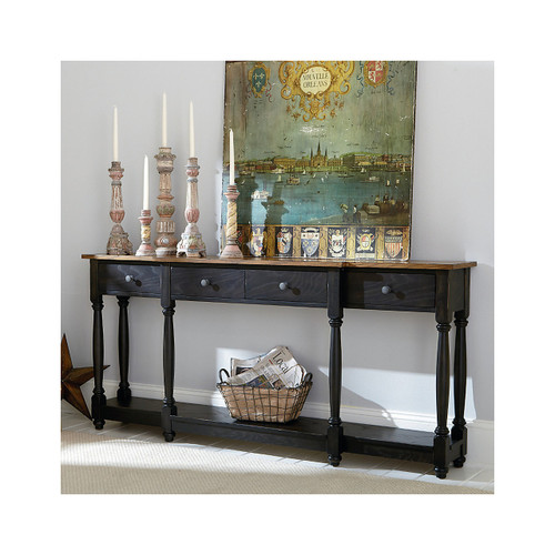 Hidden Treasures Drawer Console Table by Hammary