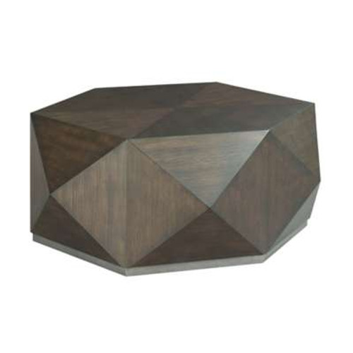 Hidden Treasures Hex Cocktail Table by Hammary