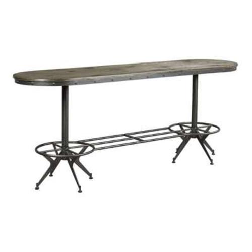 Hidden Treasures Oval Bar Table by Hammary
