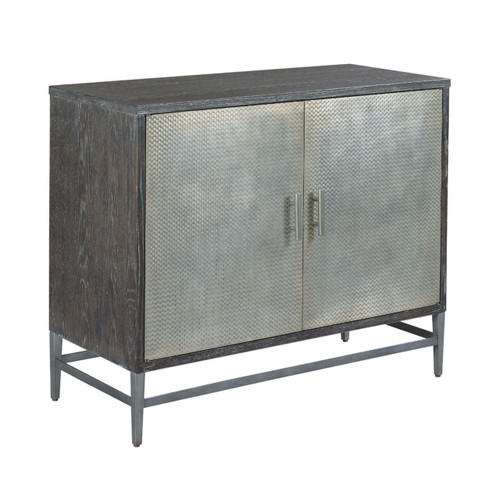 Hidden Treasures Rustic Wine Cabinet by Hammary